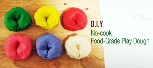 No cook food grade play dough