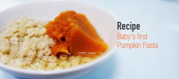baby pumpkin pasta