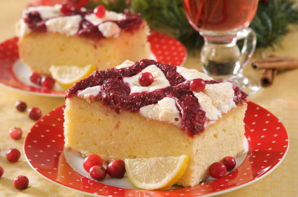 lemony steam cake